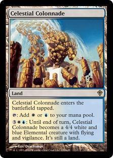 Celestial Colonnade Magic Card