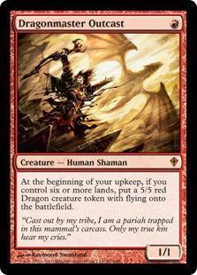 Dragonmaster Outcast Magic Card