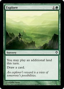 Explore Magic Card