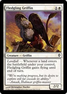 Fledgling Griffin Magic Card