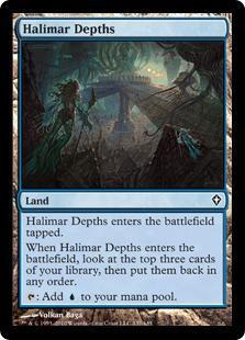 Halimar Depths Magic Card