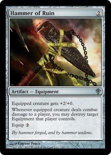 Hammer of Ruin Magic Card