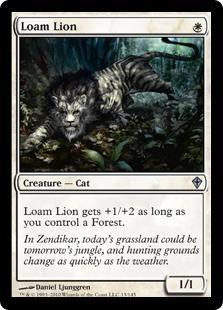 Loam Lion Magic Card
