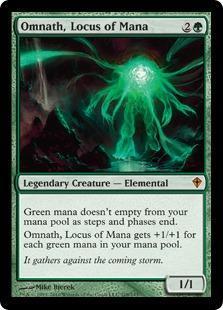 Omnath, Locus of Mana Magic Card