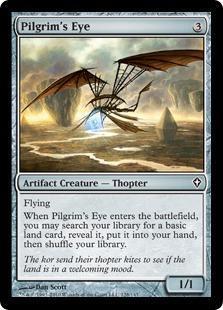 Pilgrim's Eye Magic Card