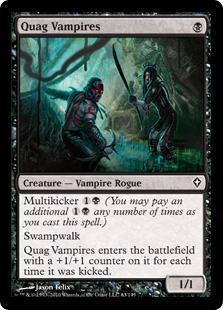 Quag Vampires Magic Card