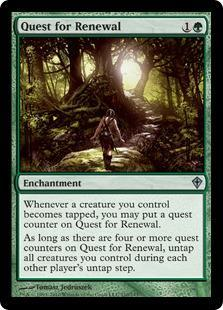 Quest for Renewal Magic Card