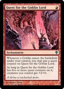 Quest for the Goblin Lord Magic Card