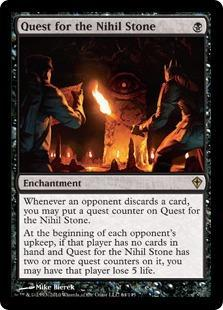 Quest for the Nihil Stone Magic Card