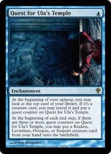 Quest for Ula's Temple Magic Card