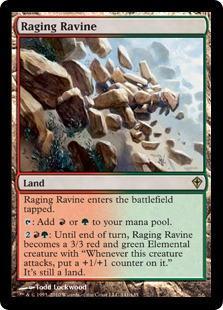 Raging Ravine Magic Card