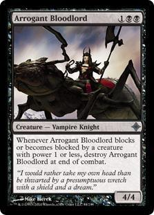Arrogant Bloodlord Magic Card
