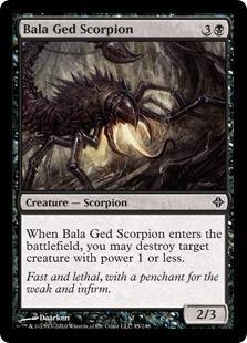 Bala Ged Scorpion Magic Card
