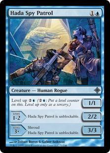 Hada Spy Patrol Magic Card