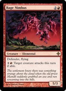Rage Nimbus Magic Card