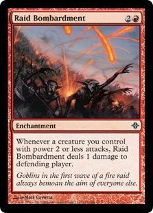 Raid Bombardment Magic Card