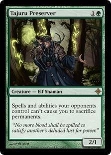 Tajuru Preserver Magic Card