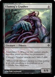 Ulamog's Crusher Magic Card