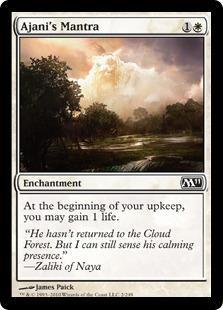 Ajani's Mantra Magic Card