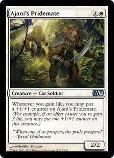 Ajani's Pridemate Magic Card