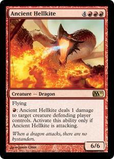 Ancient Hellkite Magic Card