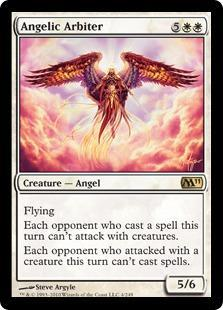 Angelic Arbiter Magic Card