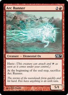 Arc Runner Magic Card