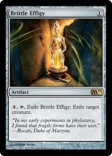 Brittle Effigy Magic Card