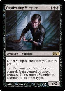 Captivating Vampire Magic Card