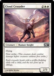 Cloud Crusader Magic Card