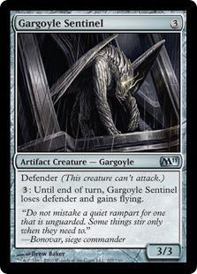 Gargoyle Sentinel Magic Card