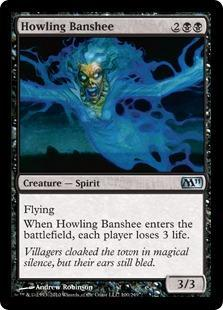 Howling Banshee Magic Card