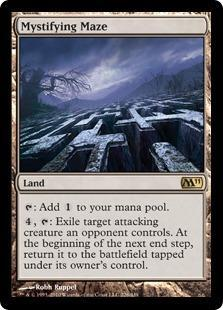 Mystifying Maze Magic Card
