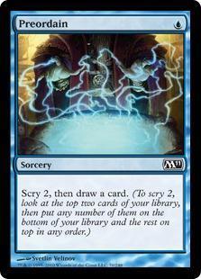 Preordain Magic Card