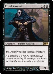 Royal Assassin Magic Card