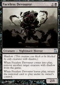 Faceless Devourer Magic Card