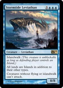 Stormtide Leviathan Magic Card