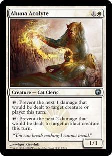 Abuna Acolyte Magic Card