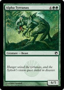Alpha Tyrranax Magic Card