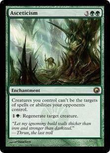 Asceticism Magic Card