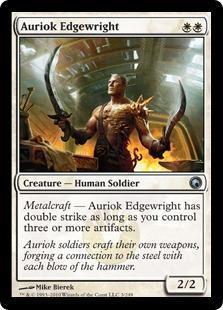 Auriok Edgewright Magic Card