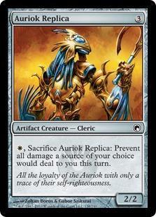 Auriok Replica Magic Card