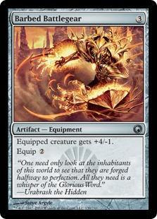 Barbed Battlegear Magic Card