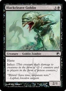 Blackcleave Goblin Magic Card