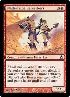 Blade-Tribe Berserkers Magic Card