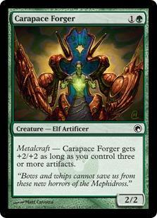 Carapace Forger Magic Card