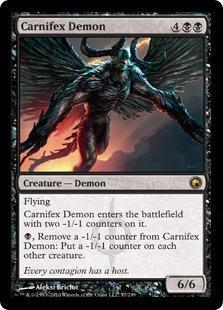 Carnifex Demon Magic Card