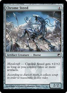 Chrome Steed Magic Card