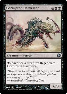 Corrupted Harvester Magic Card