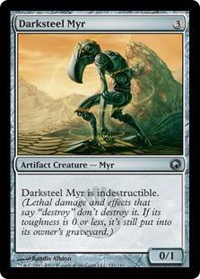 Darksteel Myr Magic Card